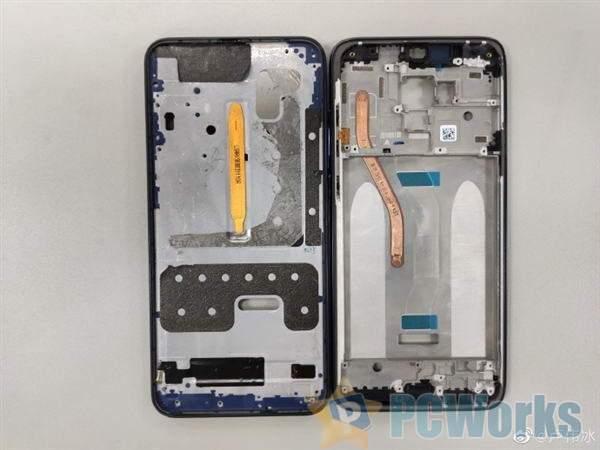 红米Note 8 Pro拆机对比图:超强液冷散热