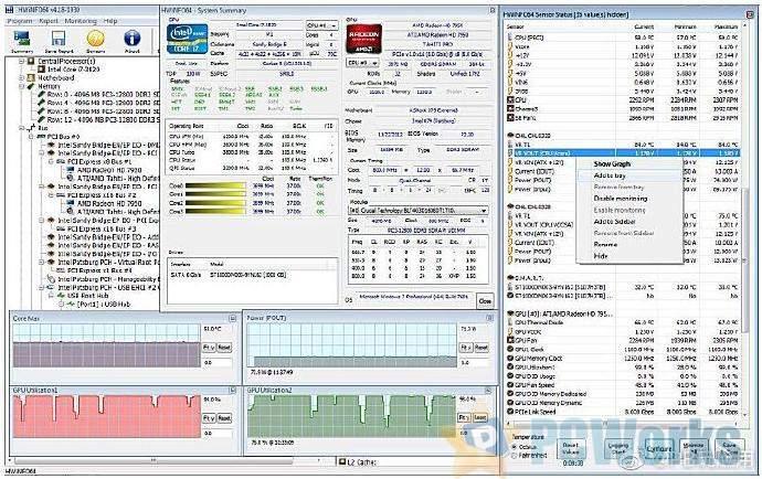 HWiNFO v6.27-4185 Beta – 免费的硬件检测工具