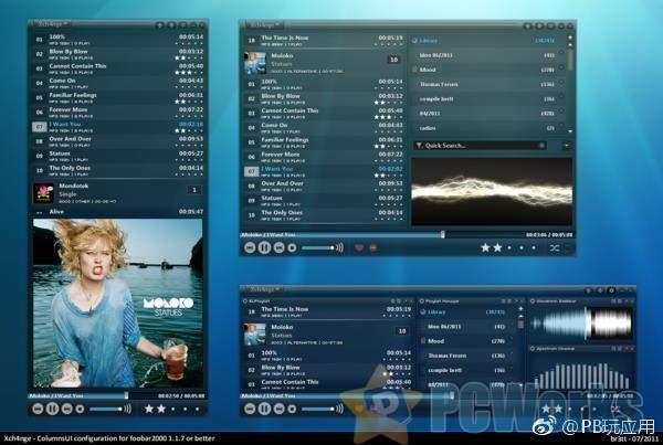 foobar2000 1.5 正式版 – 经典的mp3播放器