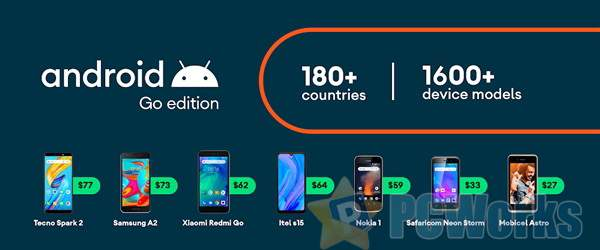 专为入门手机打造 Android 10 Go Edition发布