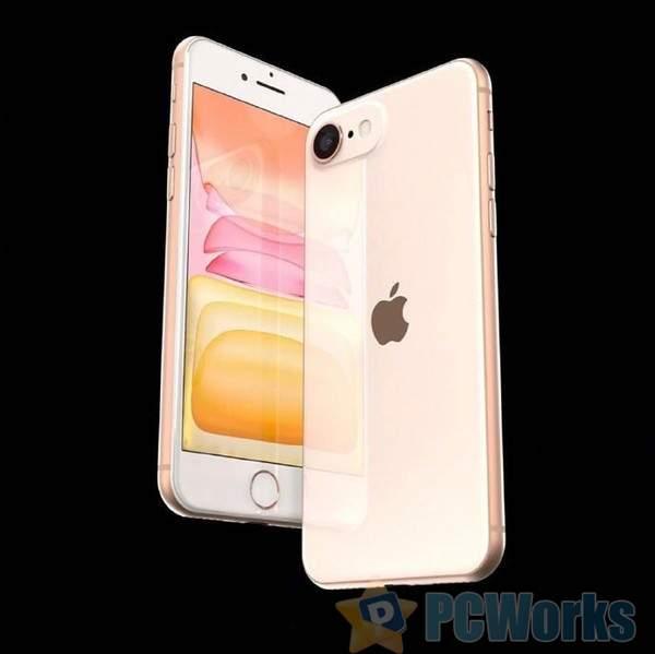 iPhone SE2渲染图曝光:A13/3GB、iP8外观