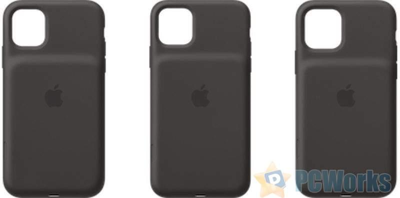 最新发布的iOS 13.2系统中出现iPhone 11智能电池背夹的照片