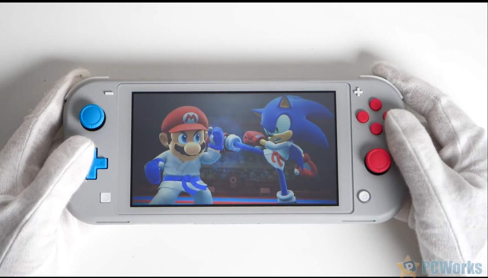 《宝可梦剑盾》限定款Switch Lite开箱 红蓝按键它香么?