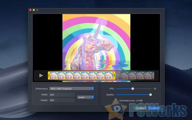 Gifski – Mac平台免费的视频转GIF动画图片