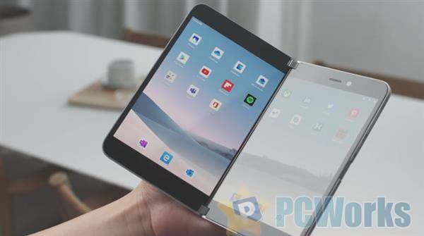 粉丝设计!Surface Duo运行Windows:感受下