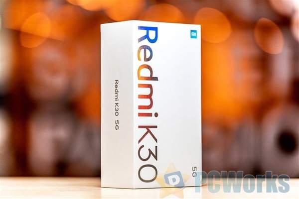 Redmi K30 5G包装盒曝光