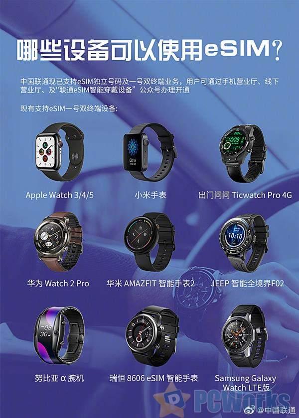中国联通向果粉安利:升级Apple Watch更方便