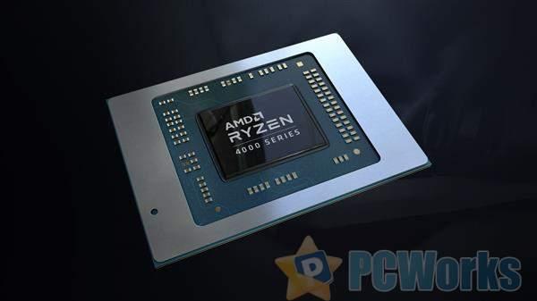 AMD发布锐龙4000U:8核 7nm Zen2仅仅15W