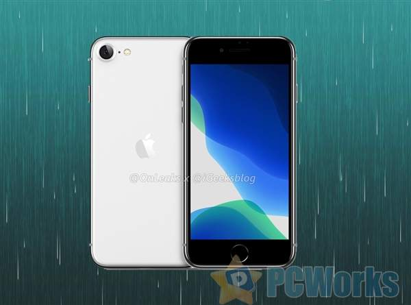 爆料大神公布iPhone 9全身渲染图:4.7寸/A13小钢炮来了