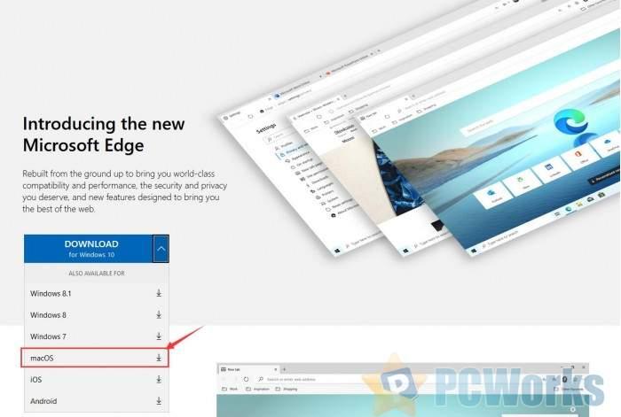 适用于macOS的新版Edge浏览器现开放下载