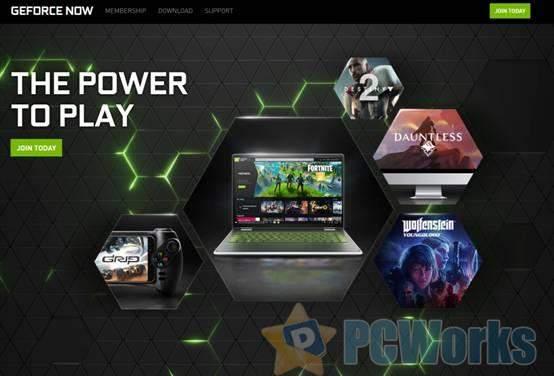 GeForce Now今日正式上线 注册就能免费玩60款3A大作