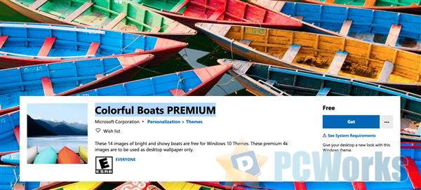 全新Windows 10免费主题上线:14张4K壁纸