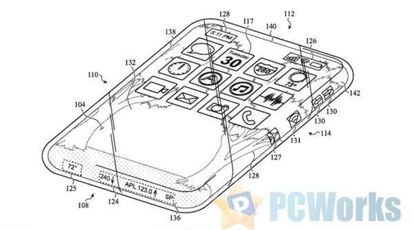 专利泄密:苹果研究iPhone新设计 机身全部都是屏