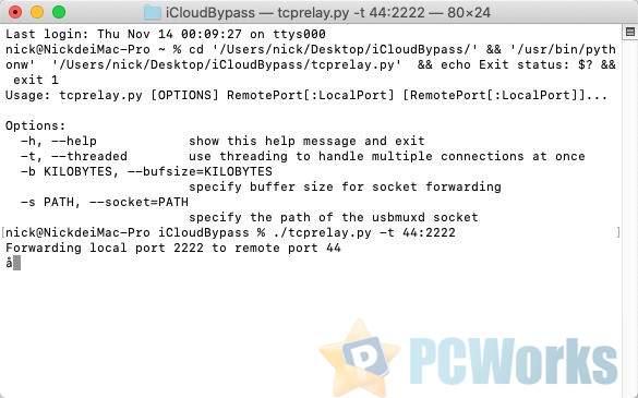 [MacOS]iCloud Bypass – 一键移除iPhone解锁的ID锁