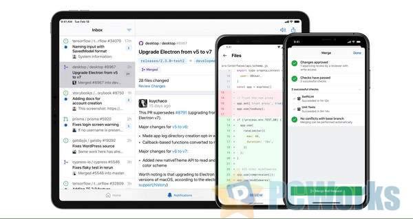 GitHub iOS 和 Android 客户端正式发布