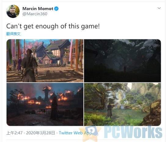 CDPR社区经理大赞《古剑奇谭3》 回复称很喜欢他们的游戏