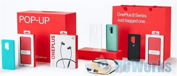 一加8 Pro包装照曝光:新配色抢眼、三款保护壳+无线耳机