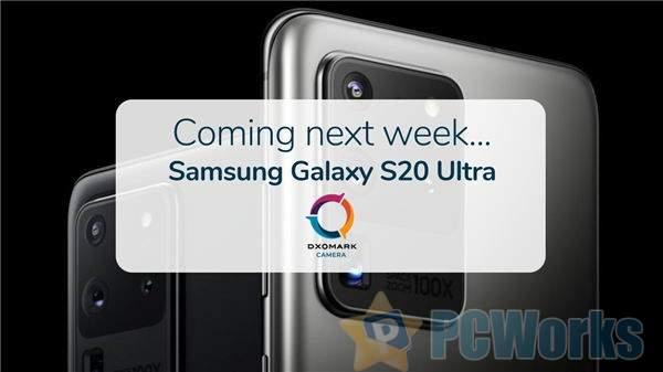 对标P40 Pro 三星Galaxy S20 Ultra DxO预告:一亿四摄加持