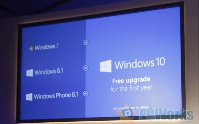 微软保留福利:Win7/8.1仍可免费升级至Win10