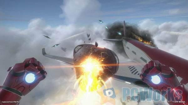 《漫威钢铁侠VR》试玩版实机演示 穿上盔甲刺激空战