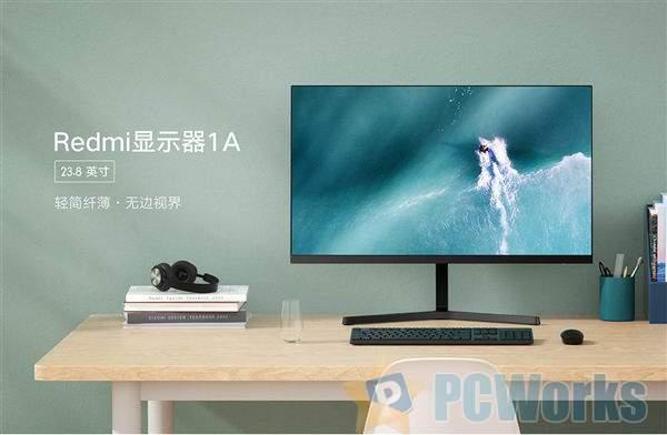 Redmi显示器1A发布:窄边框IPS屏、首发499元到手