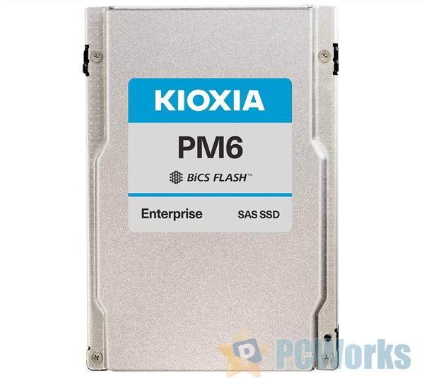铠侠发布业内首款24Gbps SAS串口固态硬盘:最大30TB、读速4300MB/s全盘