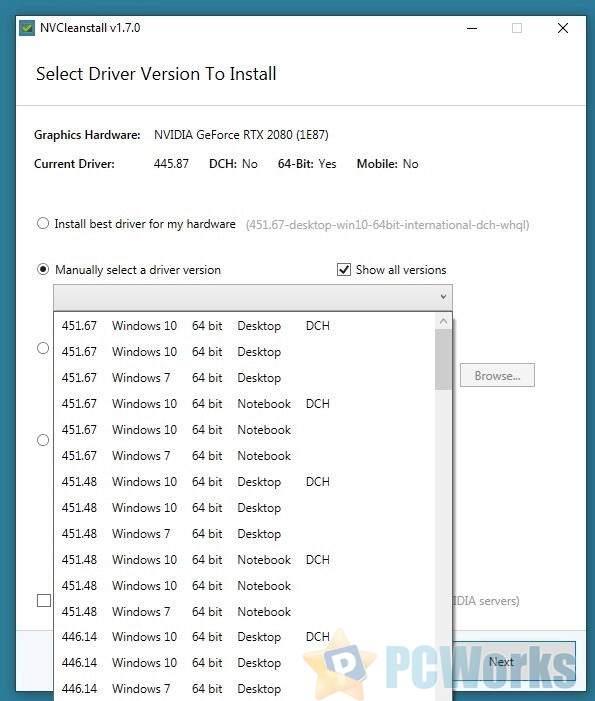 N卡驱动纯净安装工具NVCleanstall升级:不支持的显卡也能玩