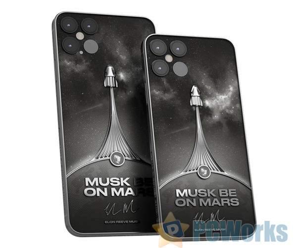 受马斯克SpaceX启发!国外奢侈品牌计划打造限量版iPhone 12